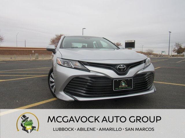 2018 Toyota Camry L Lubbock TX