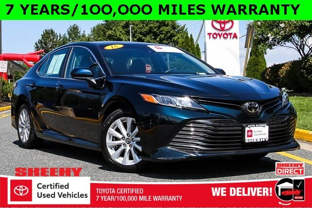 2018 Toyota Camry LE 7 YEARS 100,000 MILES WARRANTY Stafford VA