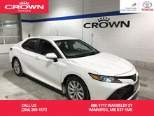 2018_Toyota_Camry_LE Auto Upgrade Pkg / Clean Carproof / Only 100 Km / Almost New / Best Value In Town Front Wheel Drive Sedan_ Winnipeg MB