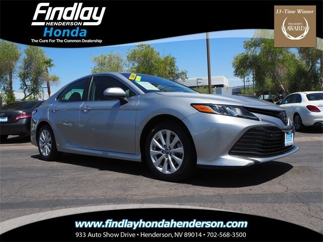 2018 Toyota Camry LE Henderson NV