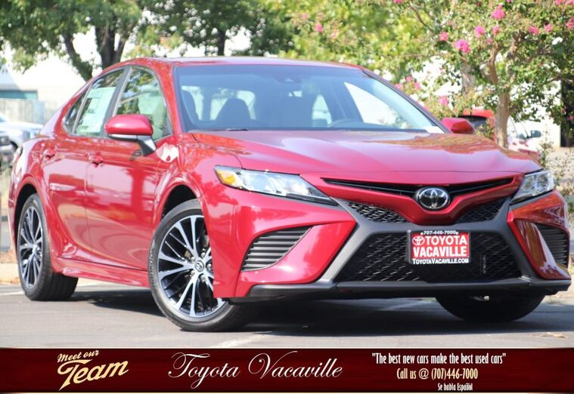 2018 Toyota Camry SE Vacaville CA