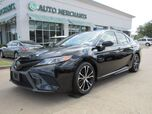 2018 Toyota Camry SE,Adjustable Steering Wheel  AM/FM Stereo  Automatic Headlights  Auxiliary Audio Input,Brake Assist