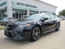 2018_Toyota_Camry_SE,Adjustable Steering Wheel  AM/FM Stereo  Automatic Headlights  Auxiliary Audio Input,Brake Assist_ Plano TX