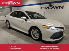 2018_Toyota_Camry_XLE **Entune Safety Connect/Save Thousands From New**_ Winnipeg MB