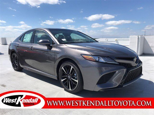 2018 Toyota Camry Xse For Sale West Kendall Toyota In