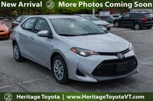 2018 Toyota Corolla  South Burlington VT