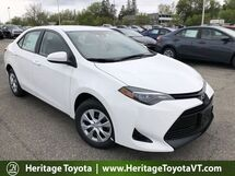 2018 Toyota Corolla L South Burlington VT