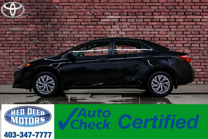 2018 Toyota Corolla LE BCam Heated Seats Red Deer AB