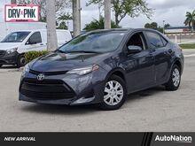2018_Toyota_Corolla_LE_ Miami FL