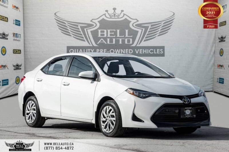 2018 Toyota Corolla LE, NO ACCIDENTS, REAR CAMERA, HEATED SEATS, HEATED MIRRORS. Toronto ON