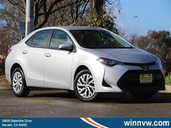 2018_Toyota_Corolla_LE_ Fremont CA