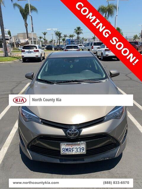 2018 Toyota Corolla LE San Diego County CA