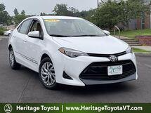 2018 Toyota Corolla LE South Burlington VT