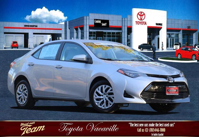 2018 Toyota Corolla Le Sedan Vacaville CA