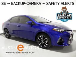 2018_Toyota_Corolla SE_*BACKUP-CAMERA, LANE DEPARTURE ALERT, PRE-COLLISION ALERT, ADAPTIVE CRUISE, TOUCH SCREEN, BLUETOOTH PHONE & AUDIO_ Round Rock TX