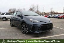 2018 Toyota Corolla SE South Burlington VT