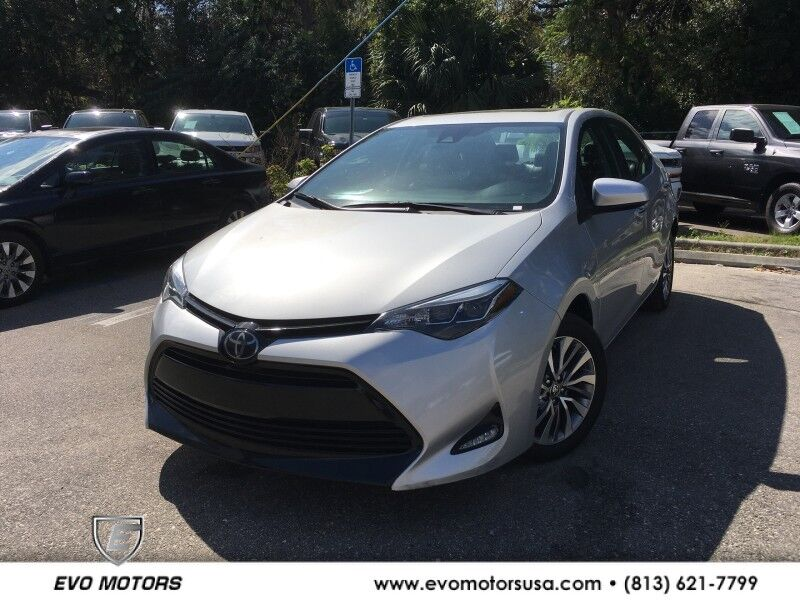 2018 Toyota Corolla XLE LEATHER. SUNROOF. NAVI Seffner FL