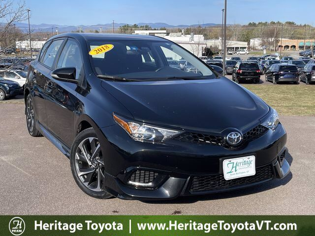 2018 Toyota Corolla iM  South Burlington VT