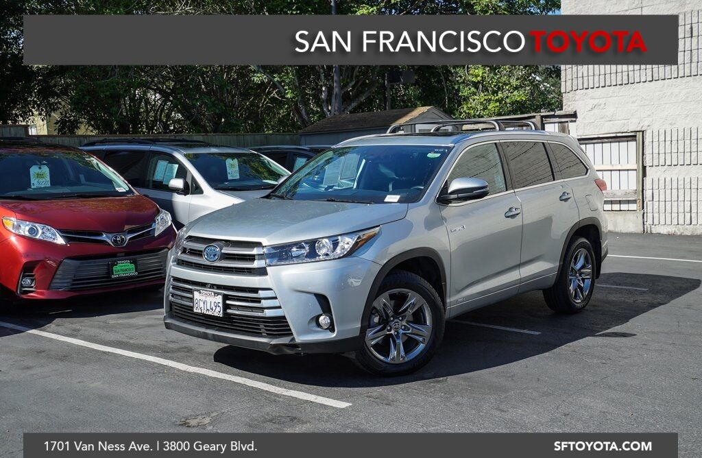 2018 Toyota Highlander Hybrid Limited Platinum San Francisco CA