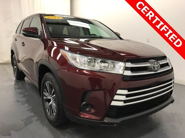 2018 Toyota Highlander LE AWD Holland MI