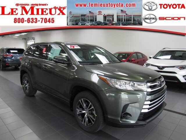 2018 Toyota Highlander LE Green Bay WI
