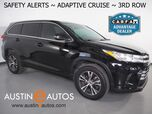 2018 Toyota Highlander LE *LANE DEPARTURE ALERT, COLLISION WARNING w/BRAKING, BACKUP-CAMERA, ADAPTIVE CRUISE, TOUCH-SCREEN, 18-INCH ALLOYS, BLUETOOTH PHONE & AUDIO