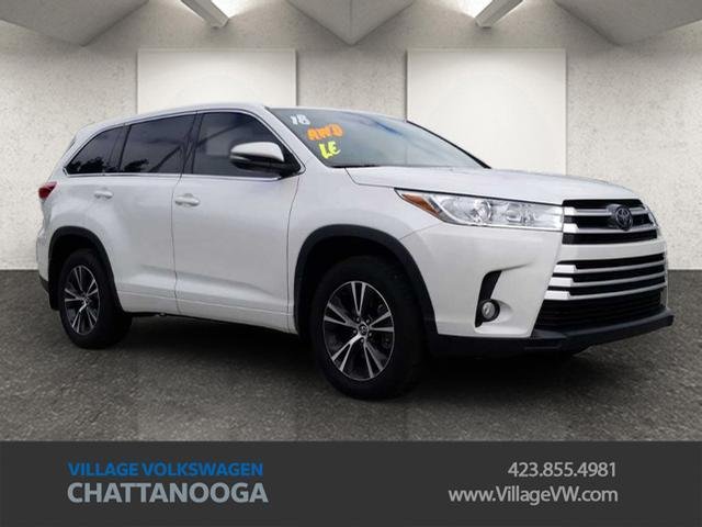 2018 Toyota Highlander LE Plus Chattanooga TN