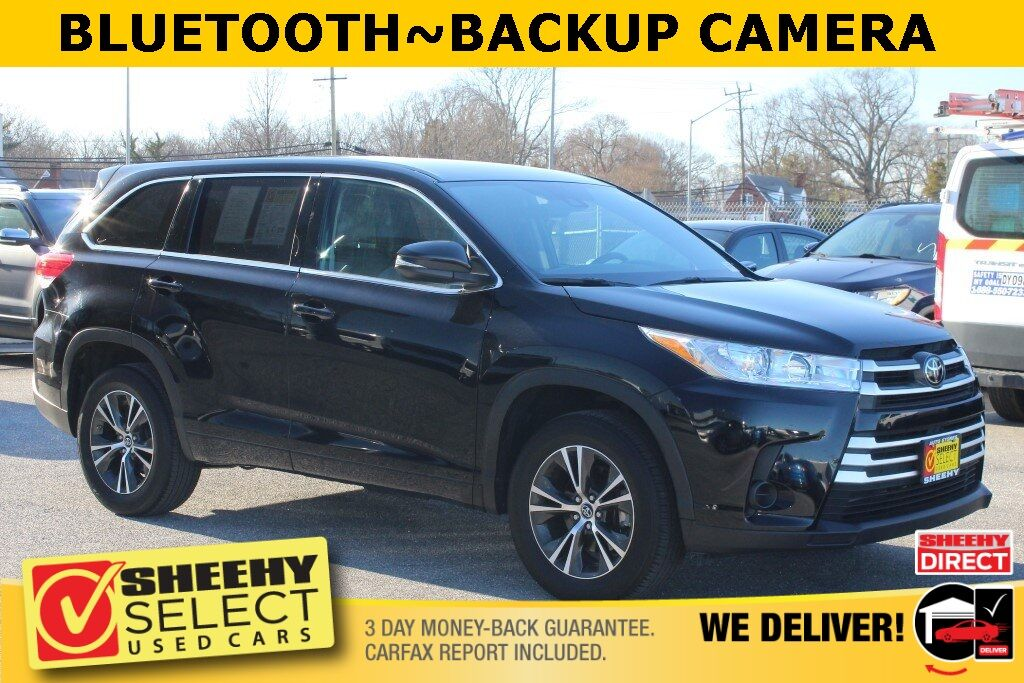 2018 Toyota Highlander LE Suitland MD