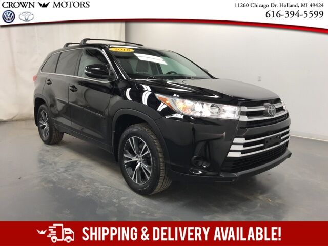 2018 Toyota Highlander LE V6 AWD Holland MI