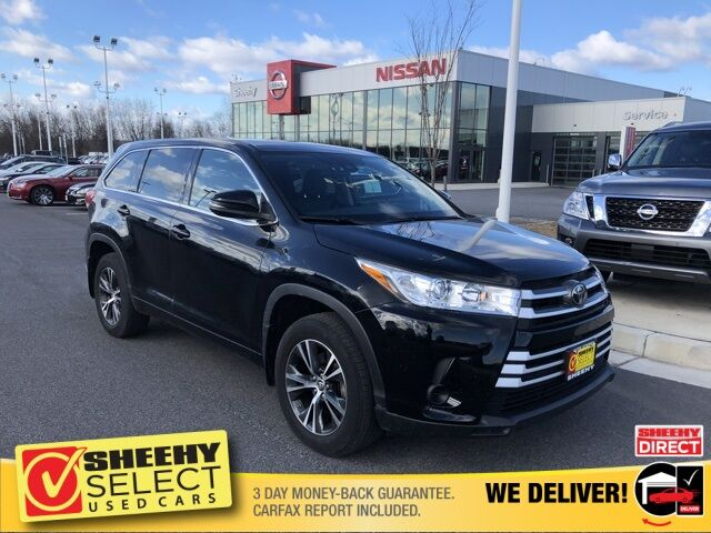 2018 Toyota Highlander LE V6 White Marsh MD