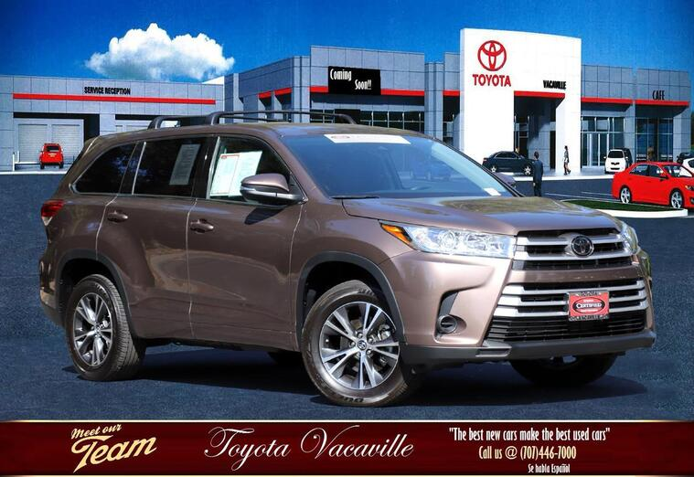 2018 Toyota Highlander Le Sport Utility Vacaville CA