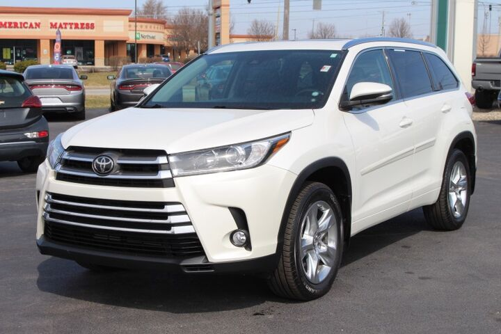 2018 Toyota Highlander Limited Fort Wayne Auburn and Kendallville IN
