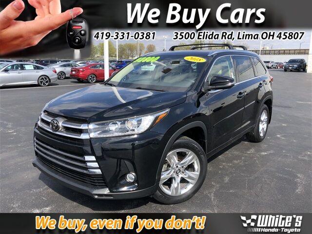 2018 Toyota Highlander Limited Lima OH