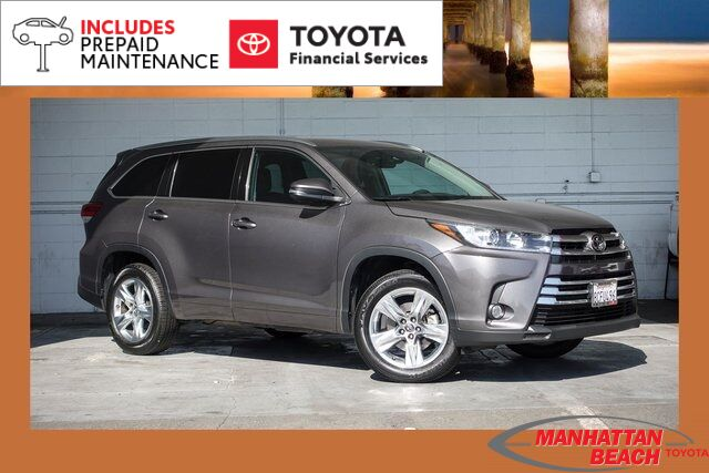2018 Toyota Highlander Limited Manhattan Beach CA