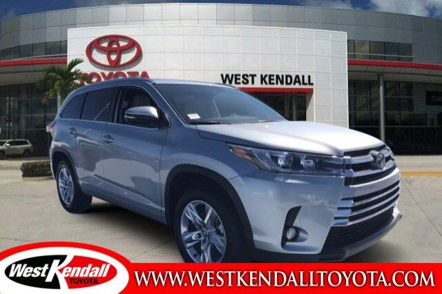2018_Toyota_Highlander_Limited_ Miami FL