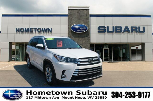 2018 Toyota Highlander Limited Mount Hope WV