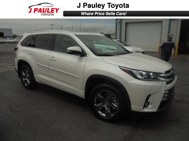 2018 Toyota Highlander Limited Platinum Fort Smith Ar 24162983