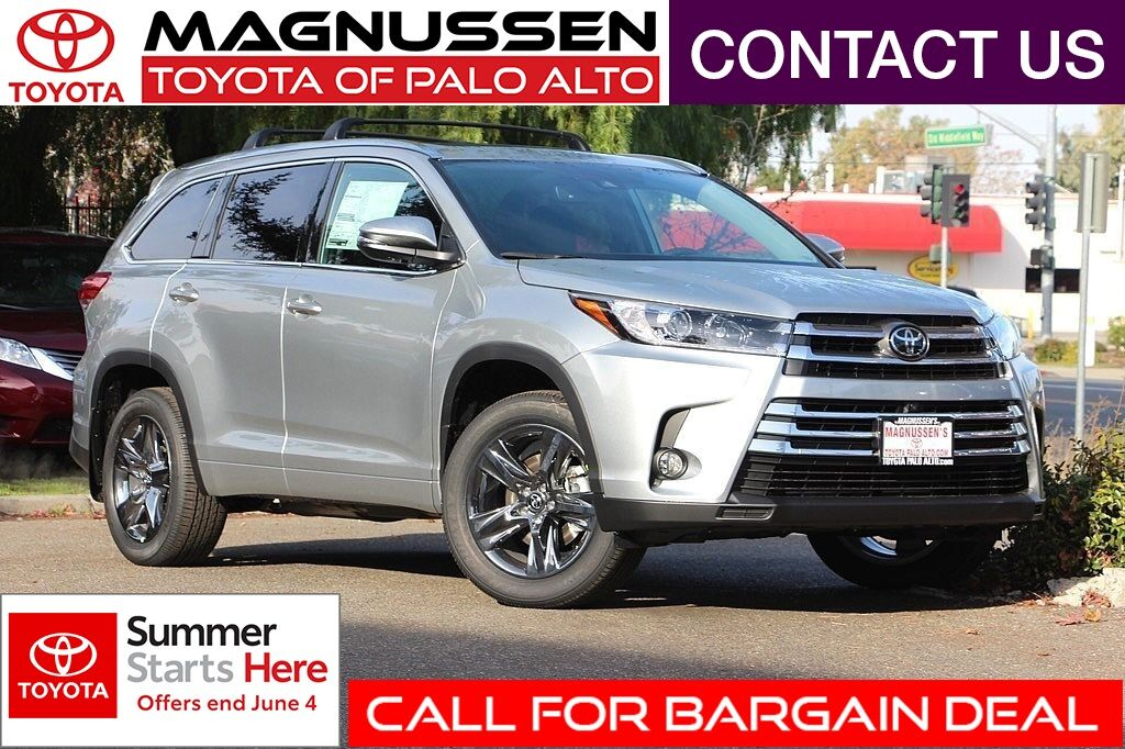 Toyota Dealership San Antonio >> 2018 Toyota Highlander Limited Platinum Palo Alto CA 21471099