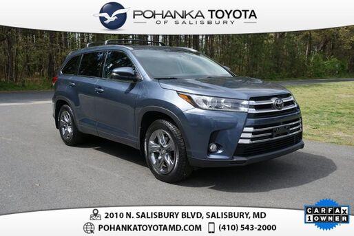 2018_Toyota_Highlander_Limited Platinum_ Salisbury MD