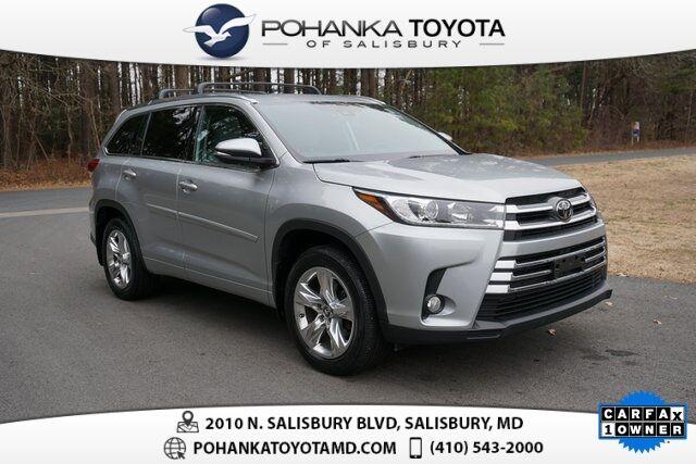 2018 Toyota Highlander Limited Salisbury MD