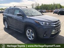 2018 Toyota Highlander Limited South Burlington VT
