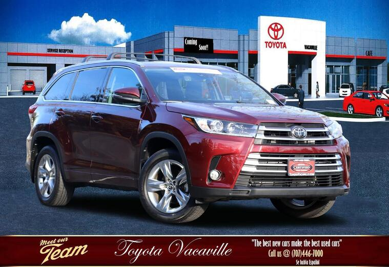 2018 Toyota Highlander Limited Sport Utility Vacaville CA
