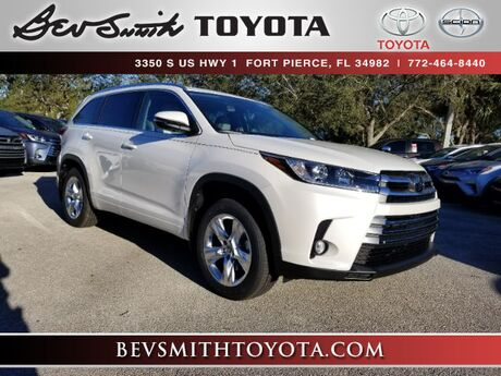2018 Toyota Highlander Limited V6 w/Bench Seat Fort Pierce FL
