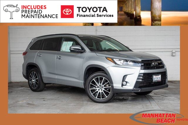 2018 Toyota Highlander SE Manhattan Beach CA