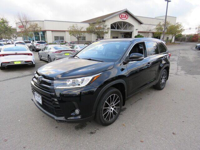 2018 Toyota Highlander SE Novato CA