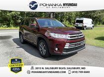 2018 Toyota Highlander XLE **3 ROW SUV**