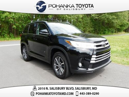 2018_Toyota_Highlander_XLE CERTIFIED_ Salisbury MD