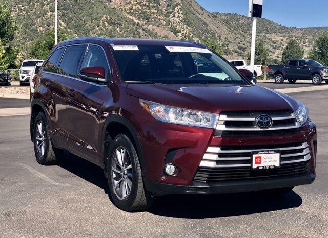 2018 Toyota Highlander XLE Durango CO