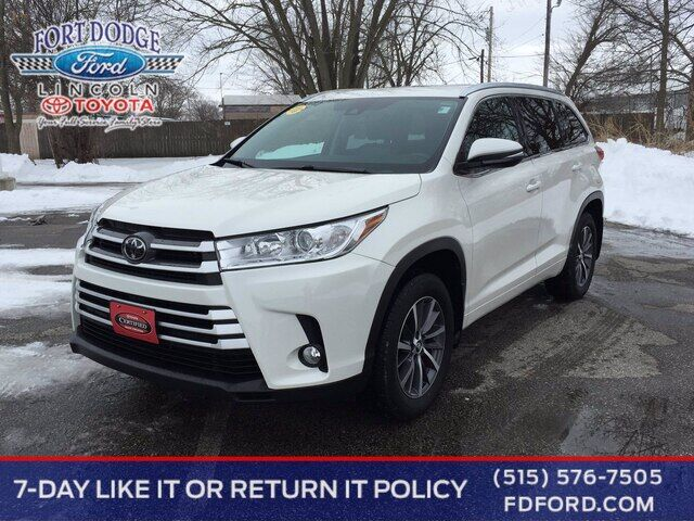 2018 Toyota Highlander XLE Fort Dodge IA