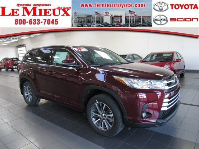 2018 Toyota Highlander XLE Green Bay WI